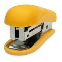 Mini Grampeador Plástico Maxprint MX-G15, 26/6 e 24/6, 15 folhas, Amarelo - 714173