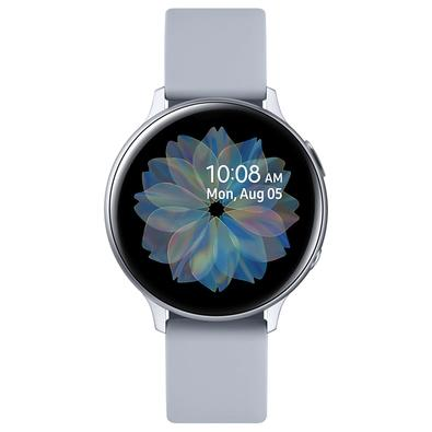 Smartwatch Samsung Galaxy Watch Active2, Monitor Cardíaco, Alumínio, Prata - SM-R820NZSAZTO
