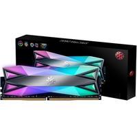 Memória XPG Spectrix D60G RGB 8GB, 3600MHz, DDR4, CL17, Cinza - AX4U360038G17-ST60