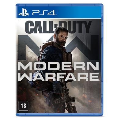 Game Call Of Duty Modern Warfare Edição Padrão PS4