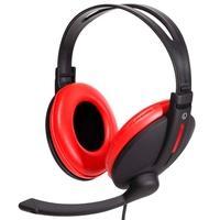 Headset Gamer Bright, Drivers 40mm,  Preto e Vermelho - 0206