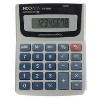 Calculadora Eletrônica Hoopson, 8 Dígitos, Bateria - PS-8985A