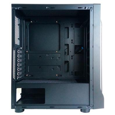 Gabinete Gamer Pixxo CG01, Mini Tower, RGB, Lateral em Acrílico - CG01
