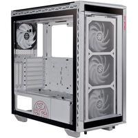 Gabinete Gamer XPG Battlecruiser, Super Mid Tower, ARGB, com FAN, Laterais e Frontal em Vidro, Branco - 75260030