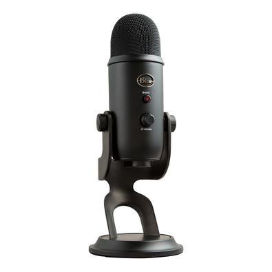 Microfone Condensador USB Blue Yeti Preto - 988-000100