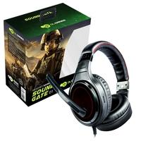 Headset Gamer DL Games SoundGate D1, Drivers 40mm, Preto e Vermelho - FG250PVM