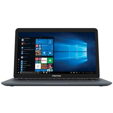 Notebook Positivo Motion Intel Core i3-7020U, 4GB, 1TB, Windows 10 Home, 14´, Cinza  - 3011572