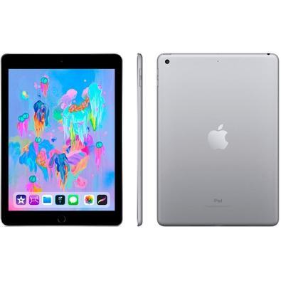 iPad 6, Tela 9.7´, 32GB, Wi-Fi + Celular, Cinza Espacial - MR6N2BZ/A