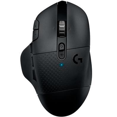 Mouse Sem Fio Gamer Logitech G604 Hero 16k Lightspeed, Bluetooth, 15 Botões, 16000 DPI