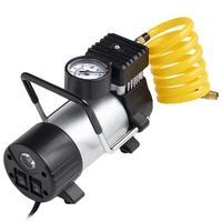 Compressor de Ar Automotivo Multilaser, 12V, Vazão 25L/min, 150psi, 3 Bicos Adaptadores - AU616