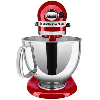 Batedeira Planetária KitchenAid Stand Mixer Artisan, 4.8L, 10 Velocidades, Empire Red, 110V - KEA33CVANA