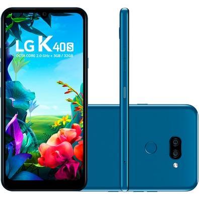 Smartphone LG K40S, 32GB, 13MP, Tela 6.1´, Azul - LMX430BMW