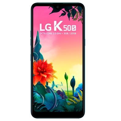Smartphone LG K50S, 32GB, 13MP, Tela 6.5´, Azul - LMX540BMW