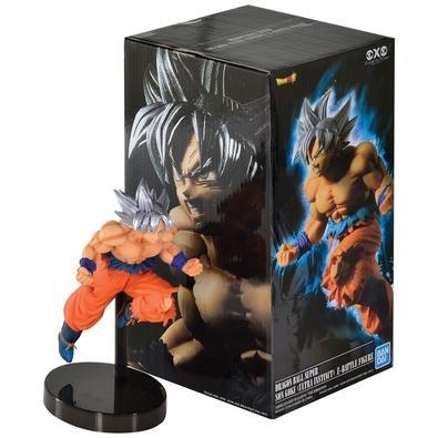 Action Figure Dragon Ball Super, Son Goku Ultra Instinct Z Battle - 34822/34823