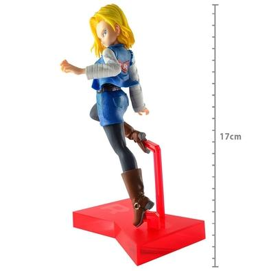 Action Figure Dragon Ball Z The Android Battle, Android 18 - 29217/29218