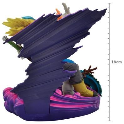 Action Figure Dragon Ball Super, Super Master Star Diorama, Vegeta & Trunks - 28374/28375