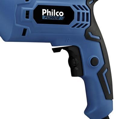 Furadeira Philco Force, Com Reversão, 650W, 110V - PFU01M