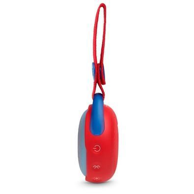 Caixa de Som Portátil JBL JR Pop, Bluetooth, 3W RMS, À Prova D´Água, Vermelho - JBLJRPOPRED