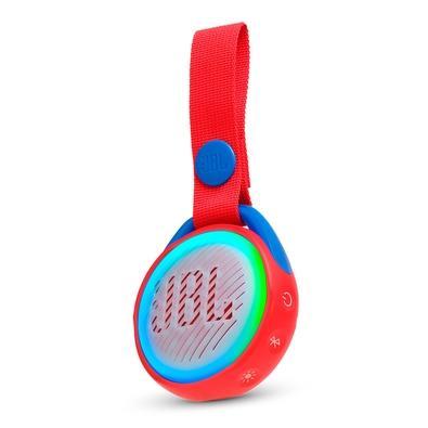 Caixa de Som Portátil JBL JR Pop, Bluetooth, 3W RMS, À Prova D´Água, Vermelho - 28913062