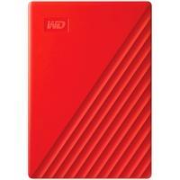 HD WD Externo Portátil My Passport, 2TB, USB 3.2, Vermelho - WDBYVG0020BRD-WESN