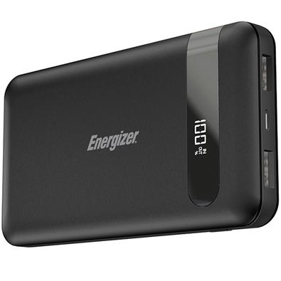 Power Bank Energizer UE10036 High-Tech, 10000mAh, 2 USB, Cabo Micro USB, Preto - UE10036BK