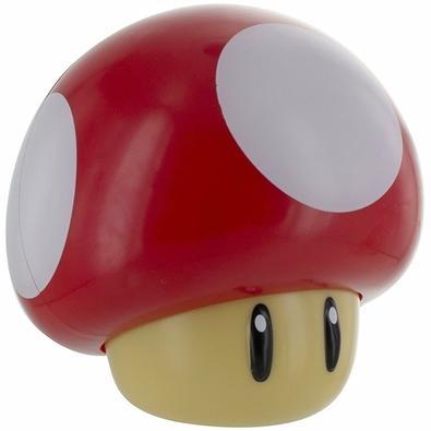 Action Figure Luminária Nintendo Super Mario Bros, Mushroom com Som - 29516