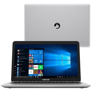 Notebook Positivo Motion C 41TAi, Intel Celeron N3350 Dual-Core, 4GB, 1TB, Linux, 14´, Prata - 3001531
