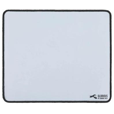 Mousepad Gamer Glorious, Speed e Control, Grande (280x330mm), Branco - GW-L
