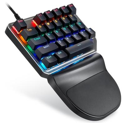 Teclado Mecânico Gamer Motospeed K27, LED Rainbow, Switch Outemu Red, ANSI