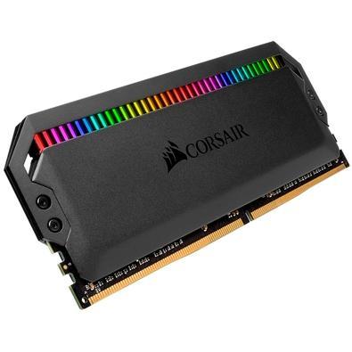 Memória Corsair Dominator RGB, 32GB (4x8GB), 3000MHz, DDR4, CL15 - CMT32GX4M4C3000C15