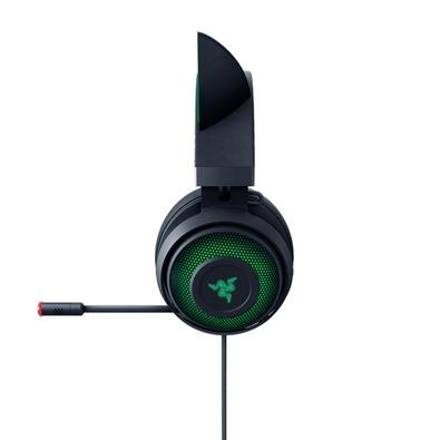 Headset Gamer Razer Kraken Kitty, Chroma, USB, Som Surround 7.1, Drivers 50mm - RZ04-02980100-R3M1