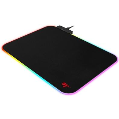 Mousepad Gamer Havit MP901, RGB, Speed, Médio (360x260mm) - MP901