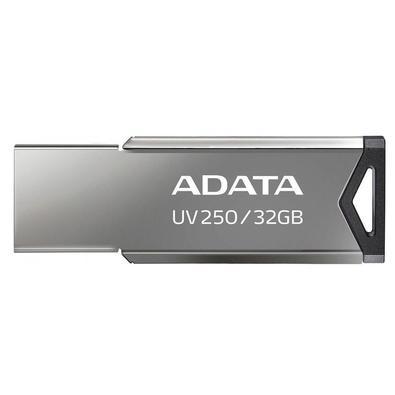 Pen Drive Adata UV250, 32GB, USB 2.0, Preto - AUV250-32G-RBK