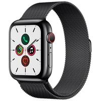 Apple Watch Series 5, GPS, 44mm, Cinza Espacial, Pulseira Preta - MWWL2BZ/A