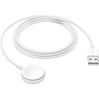 Carregador Magnético Apple, para Apple Watch, Conector USB, 1m - MX2E2BE/A