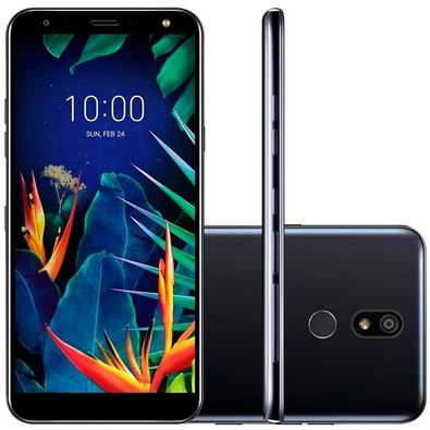Smartphone LG K12+ VI 32GB, 16MP, Tela 5.7´, Preto - LMX420BMW
