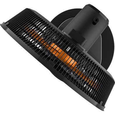 Ventilador 2 em 1 Cadence Turbo Conforto, Mesa e Parede, 42cm, 3 Velocidades, 110V, Preto e Laranja - VTR478-127