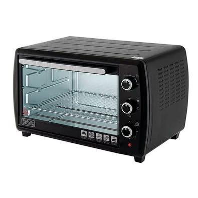 Forno Elétrico Black + Decker Bake Chef Family, 50 Litros, 110V, Preto e Inox - FT50-BR
