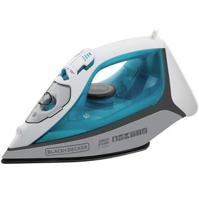 Ferro de Passar a Vapor Black + Decker Speed Steam, 1200W, 110V, Azul - FX3060-BR