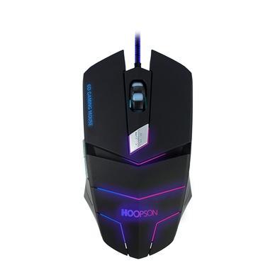 Mouse Gamer Hoopson MS-030, LED, 6 Botões, 2400DPI - MS-030 P