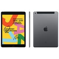 iPad 7 4G, Tela 10.2´, 128GB, Cinza Espacial - MW6E2BZ/A