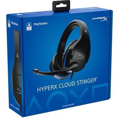 Headset Gamer HyperX Cloud Stinger PS4, Preto - HX-HSCSS-BK/AM