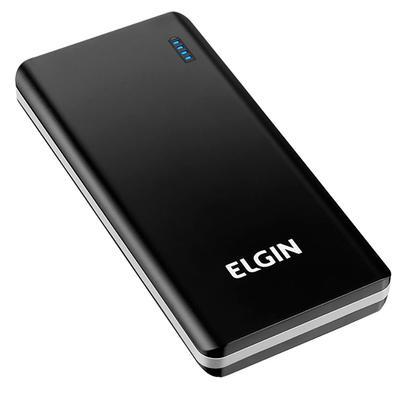 Power Bank Elgin CP10K, 10000mAh, 2 USB, Cabo USB - 46RCP10K0000