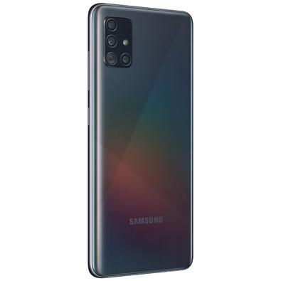 Smartphone Samsung Galaxy A51, 128GB, 48MP, Tela 6.5´, TV Digital, Preto - SM-A515FZKBZTO