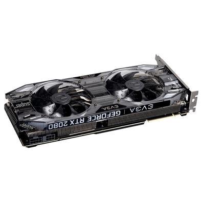 Placa de Vídeo EVGA NVIDIA GeForce RTX 2080 Super XC Gaming, 8GB, GDDR6 - 08G-P4-3182-KR