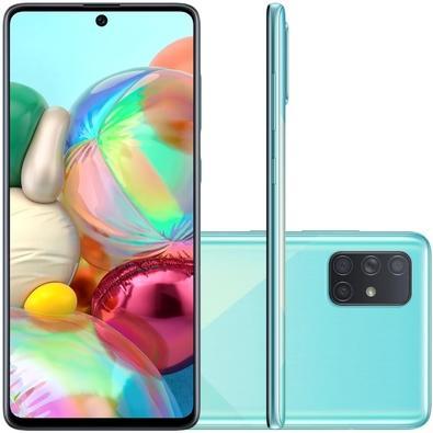 Smartphone Samsung Galaxy A71, 128GB, 64MP, Tela 6.7´, Azul - SM-A715FZBJZTO