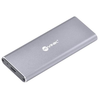 Case para SSD M.2 Vinik CSM2-CN, Type C 3.1 com NVME - 32813