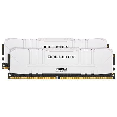 Memória Crucial Ballistix Sport LT, 16GB (2X8), 3200MHz, DDR4, CL16, Branca - BL2K8G32C16U4W