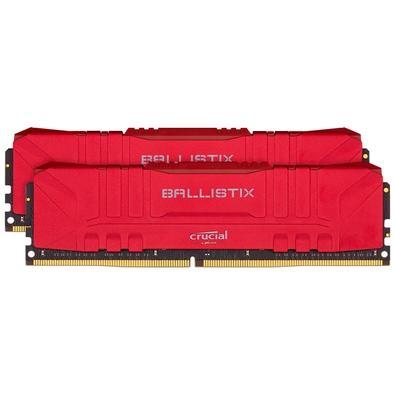 Memória Ram 16gb Kit(2x8gb) Ddr4 3200mhz Bl2k8g32c16u4r Crucial