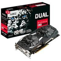 Placa de Vídeo Asus Arez Dual AMD Radeon RX 580 OC..